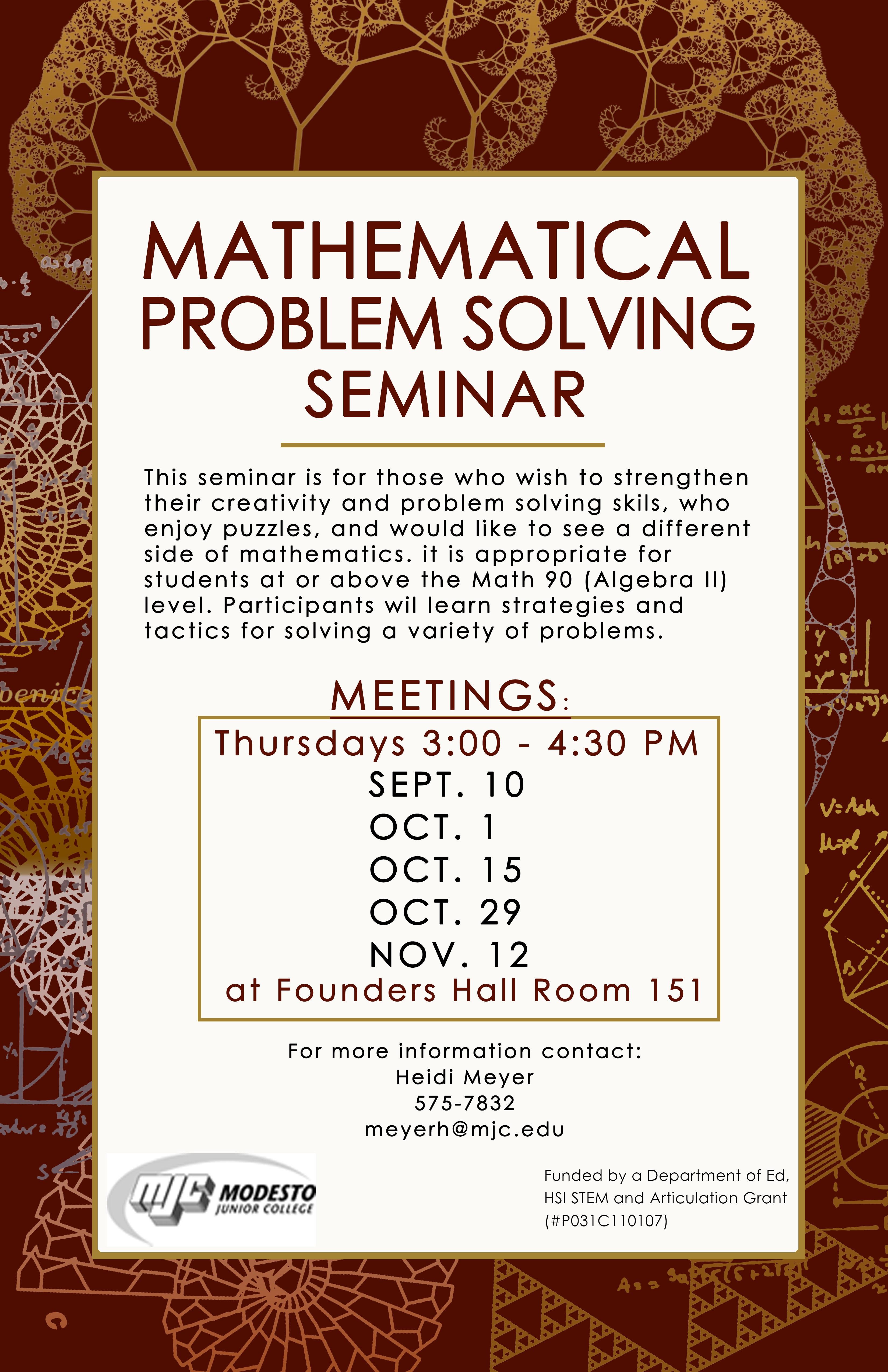 PS Seminar Poster